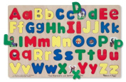 Melissa & Doug Kids Toy, Upper and Lowercase Alphabet Puzzle