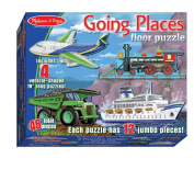 Melissa & Doug Kids Toy, Going Places 48-Piece Floor Puzzle