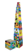 Melissa & Doug Alphabet and Animals Nesting and Stacking Block Sets