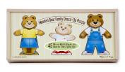 Melissa & Doug Bear Family Dress-Up Box Puzzle