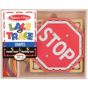 Melissa & Doug Lace & Trace Shapes