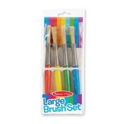 Melissa & Doug Large Paint Brushes - Set of 4