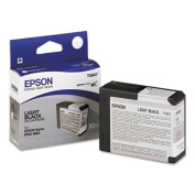 compatible with compatible with compatible with compatible with compatible with compatible with compatible with Epson T5807 - light black - original - ink cartridge