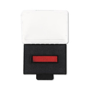 U. S. Stamp & Sign T5430 Replacement Ink Pad, 1 x 1-5/8, Red/Blue