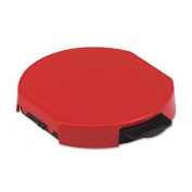 Trodat T5415 Stamp Replacement Ink Pad, 1 3/4, Red