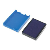 US Stamp P4729BL Trodat T4729 Dater Replacement Pad 1-9/16w x 2d Blue