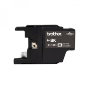 for Brother International LC75BK High Yield XL Black Ink Cart