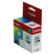 BCI24 (BCI-24) Ink Tank, 130 Page-Yield, Tri-Color
