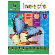 Teacher Created Resources Super Science Activities, Grades 2-5, Insects