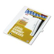80000 Series Legal Index Dividers, Side Tab, Printed 14, 25/Pack, Sold as One Pack