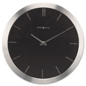 Stanton Wall Clock, 11-3/4in, Brushed Nickel