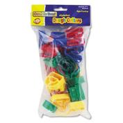Alphabet Dough Cutter Kit, 26 Capital Letters, 4cm h, Assorted Colours. Includes 26 capital letter cutters.