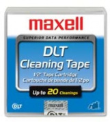 DLT Head-Cleaning Cartridge, 20 Cleanings. 10 EA/BX.