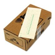 Time Card for Cincinnati, Simplex, Weekly, 3 1/2 x 10 1/2, 500/Box