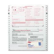 W-3 Tax Form, Lttr, 2-Part Carbonless, 10 Continuous Forms