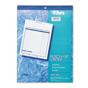 Purchase Order Book, 8-3/8 x 10 3/16, Two-Part Carbonless, 50 Sets/Book