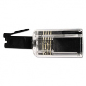 Softalk 21002 Rotating 360 Telephone Cord Detangler Clear/Black