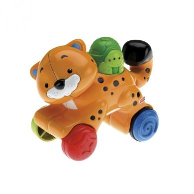 Amazing Animals - Press & Go Cheetah - Mattel Preschool