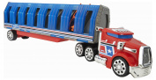 Hot Wheels Power Drop Transporter Vehicle Red/Blue