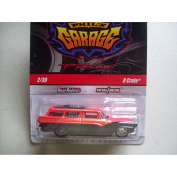 2011 HOT WHEELS 1:64 SCALE GARAGE SERIES '69 CAMARO CONVERTIBLE #14/22 WITH METAL BODY & CHASSIS AND REAL RIDER/RUBBER tyres