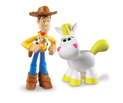 Disney / Pixar Toy Story 3 Action Links Mini Figure Buddy 2Pack Hero Woody & Buttercup