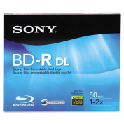 BD-R Dual Layer Recordable Disc, 50GB, 2x