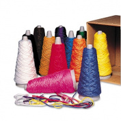 Pacon Trai-Tex Double Weight Yarn Cones 2-oz. Assorted