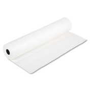 """Rainbow Duo-Finish Colored Kraft Paper, 35 lbs., 36"""" x 1000 ft, White"""