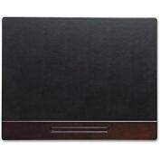 Wood Tone Desk Pad, Mahogany, 24 x 19