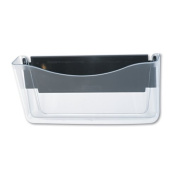 Rubbermaid 65986 Unbreakable Magnetic Wall File, Letter/A4 Size, Clear