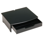 Rolodex Corporation ROL82430 Monitor Stand- Woodtone- 15inchx13-. 25inchx4-. 75inch- Black