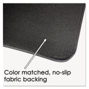 Sagamore Desk Pad w/Flip-Open Side Panels, 36 x 20, Black