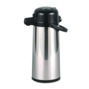 Hormel PAE22B Commercial Grade 2.2 Liter Airpot w/Push-Button Pump Stainless Steel