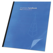 GBC(R) ClearView(R) Presentation Covers, Clear, Round Corners, Standard Weight, 22cm . x 29cm ., Pack Of 25