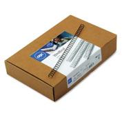 "GBC 9775008 WireBind Spines- 1/4"" Diameter- 40 Sheet Capacity- Black- 100/Box"