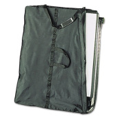 Presentation Easel Carrying Case, Ballistic Nylon, 32 x 42, Black