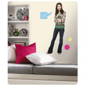 RoomMates RMK1363GM iCarly Peel And Stick Giant Wall Applique