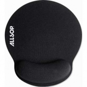 Memory Foam MousePad Pro, Nonskid Back, 10 x 10-1/4, Black