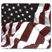 "NatureSmart Mouse Pad, American Flag Design, 8 3/5"" x 8"""