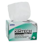 KIMTECH SCIENCE KIMWIPES, Tissue, 4 2/5 x 8 2/5, 280/Box, 30 Boxes/Carton