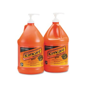 Kimberly-Clark 91057CT NTO Hand Cleaner with Grit Orange Liquid 1gal Pump Four/carton