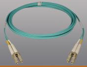 N820-03M 3M 10ft 10Gb Duplex MMF 50/125 LSZH Patch Cable LC/LC Aqua, 10'