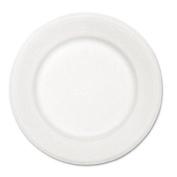 HTM VENTURECT Paper Dinnerware Plate 10-1/2 Diameter White 500 per Carton