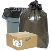 Classic Clear Opaque Brown/Black Low-Density Can Liners, 26.5-37.9l 500 ct