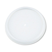 Plastic Lids, for 8,12,16 oz. Hot/Cold Foam Cups, Vented, 1000/Carton