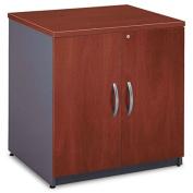 "30""W Storage Cabinet Series C, Natural Cherry/Graphite Gray"