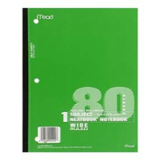 MEAD PRODUCTS MEA05222 NOTEBOOK WIRELESS NEATBOOK 10.5 INCH X 8 INCH 80 SHEETS