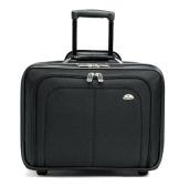 Mobile Office Notebook Case, Nylon, 17-1/2 x 9 x 14, Black