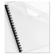 FUTURA PRESENTATION BINDING SYSTEM COVERS, 11 X 8-1/2, FROST, 25/PACK