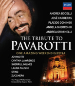 The Tribute to Pavarotti - One Amazing Weekend in Petra [Region B] [Blu-ray]